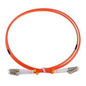 LC LC MultiMode Duplex OM2 50/125 Fiber Optic Patch Cord