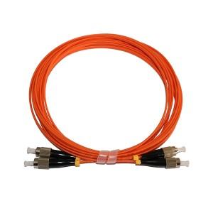 FC FC MultiMode Duplex OM2 50/125 Fiber Optic Patch Cord