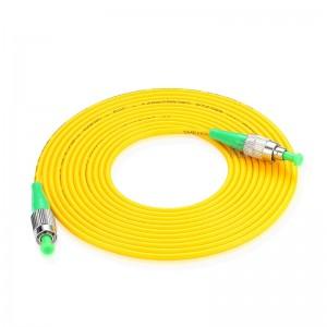 FC/APC-FC/APC SingleMode Simplex  9/125 Fiber Optic Patch Cable