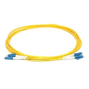 LC LC SingleMode Duplex 9/125 Fiber Optic Patch Cord