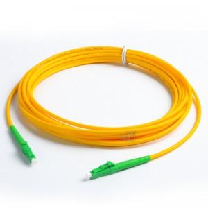 LC/APC-LC/APC SingleMode Simplex  9/125 Fiber Optic Patch Cable
