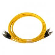 FC FC SingleMode Duplex 9/125 Fiber Optic Patch Cord
