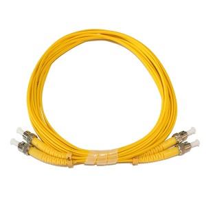 ST ST SingleMode Duplex 9/125 Fiber Optic Patch Cord