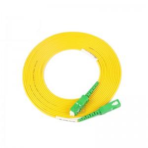 SC/APC-SC/APC SingleMode Simplex  9/125 Fiber Optic Patch Cable