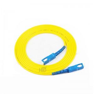 SC/UPC-SC/UPC SingleMode Simplex  9/125 Fiber Optic Patch Cable