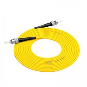ST/UPC-ST/UPC SingleMode Simplex  9/125 Fiber Optic Patch Cable