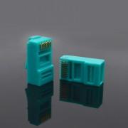 Nylon CAT5E RJ45 Connector Unshielded 8P8C 100 pcs/pack