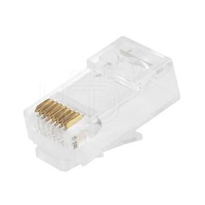 CAT6 RJ45 Connector Unshielded 8P8C 100 pcs/pack