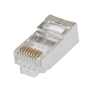 CAT6 RJ45 Connector Internal Shielded 8P8C 100 pcs/pack