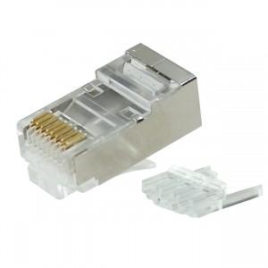CAT6A RJ45 Connector Internal Shielded 8P8C 100 pcs/pack