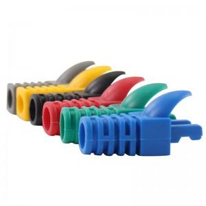 RJ45 Boot Strain Relief For EZ Cat5e RJ45 Plug Colorful