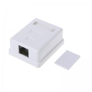 Surface Mount Box Cat6 Single 1 Port