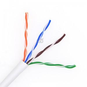 LSZH CAT5E UTP Bulk Ethernet Cable 24AWG 305m Pull Box