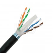 Outdoor CAT6 STP UV Rated Direct Burial 305M
