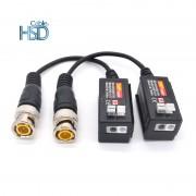 Camera CCTV Passive BNC Video Balun to UTP Transceiver